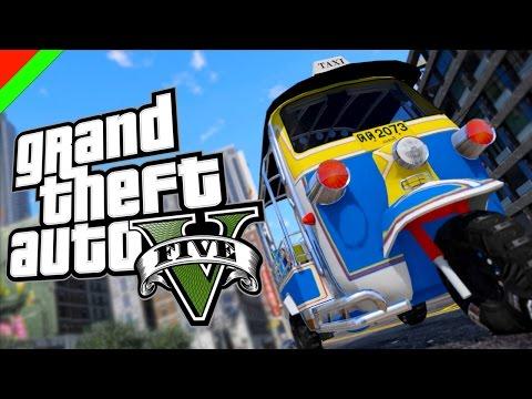 Grand Theft Auto V - ตุ๊�ๆไทย�ลนด์ (GTA V Mod,ตล�,ฮา)