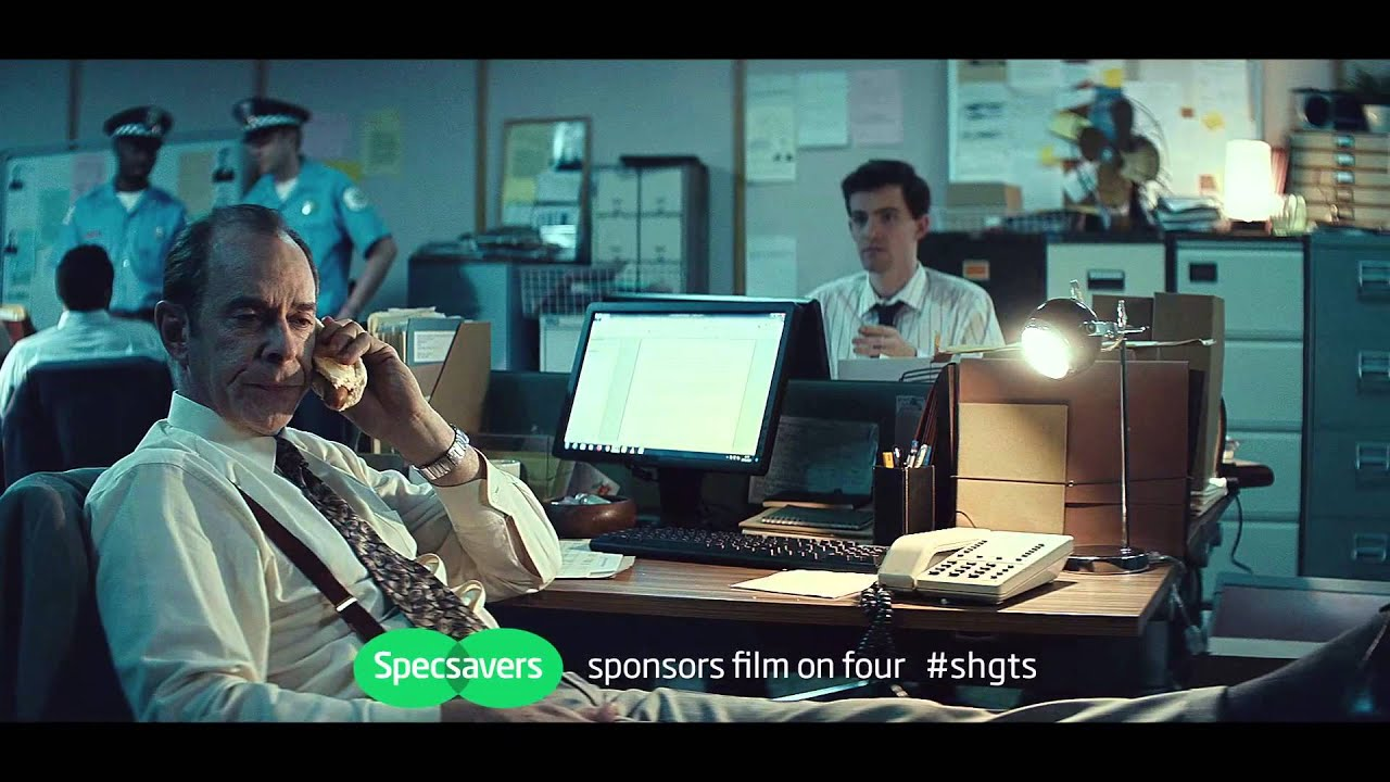 specsavers film sponsorship detective uk specsavers film4 sponsorship detective 2014 uk