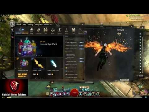 Guild Wars 2 - Privateer Weapon Skin Previews