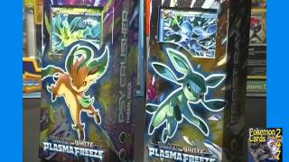 Pokemon Black White Plasma Freeze Theme Decks Psy Crusher & Frost Ray