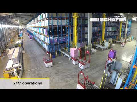 Automated Guided Vehicles, Storage and Retrieval Machines, 2XL N.V., Warehouse Automation
