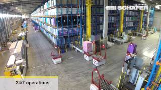 видео: Automated Guided Vehicles, Storage and Retrieval Machines, 2XL N.V., Warehouse Automation