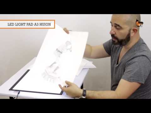Unboxing e avaliação da mesa de luz Led Light Pad A3 Huion