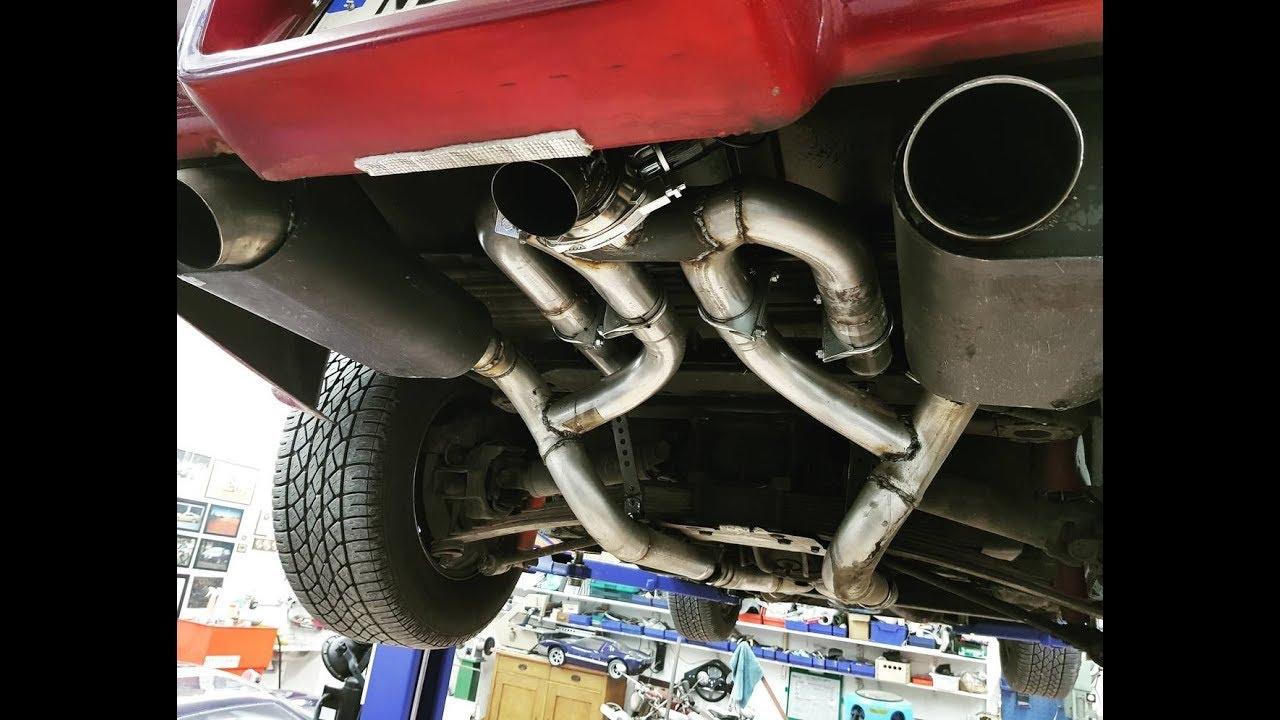 corvette c3 cutoff j pipes bigblock no