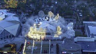 Atlanta's Iconic Georgia Dome Imploded