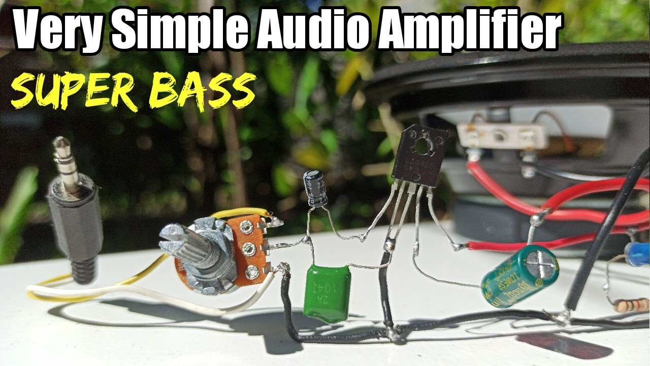 Simple Powerful Audio Amplifier