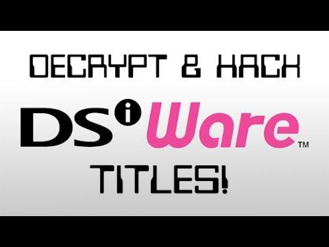 DSiWare Hacking/Ripping Tutorial! [V 1 0]