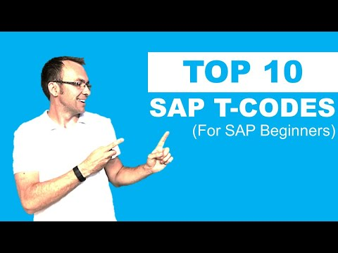 Top 10 SAP Transaction Codes You Need To Know [LIVE DEMO]