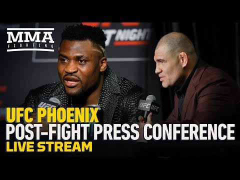 Live Stream: UFC Phoenix Post-Press Conference - MMA Fighting