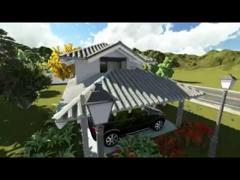 Projetos de casas modelo de uma casa pequena youtube - Modelos de casas de campo pequenas ...