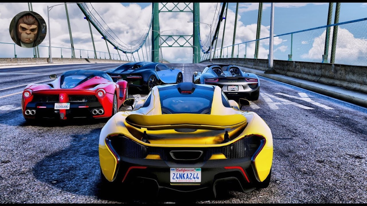 Ultra Realistic Hdr Graphics 60fps Gameplay: Hypercars Gameplay! 2018 REDUX & M.V.G.A
