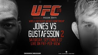UFC 178: Jones vs Gustafsson 2 Promo *Fight Cancelled*