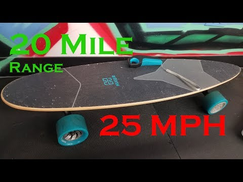 Huger Tech Racer Electric Skateboard Review – The Game Chang