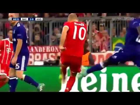 Bayern Munich vs Anderlecht 3-0 - UCL 2017 2018 - Highlights English Commentary