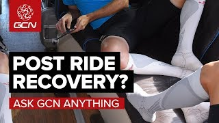 What's Best For Post Ride Recovery? | Ask GCN Anything About Cycling