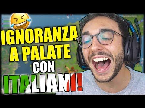 FINALMENTE UNA LOBBY DI ITALIANI! - Fortnite Funny Moments