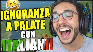 FINALMENTE UNA LOBBY DI ITALIANI! - Fortnite Funny Moments