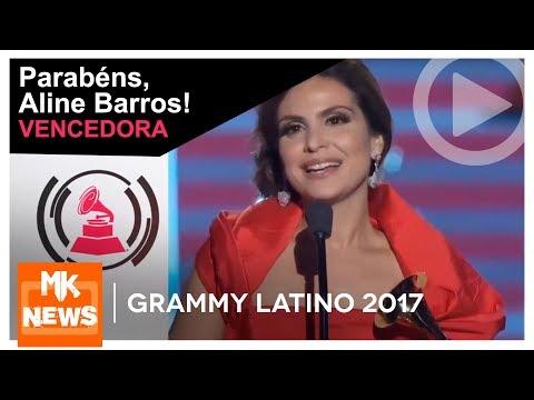 Grammy Latino 2017 - Aline Barros é a vencedora do Grammy Latino (News)
