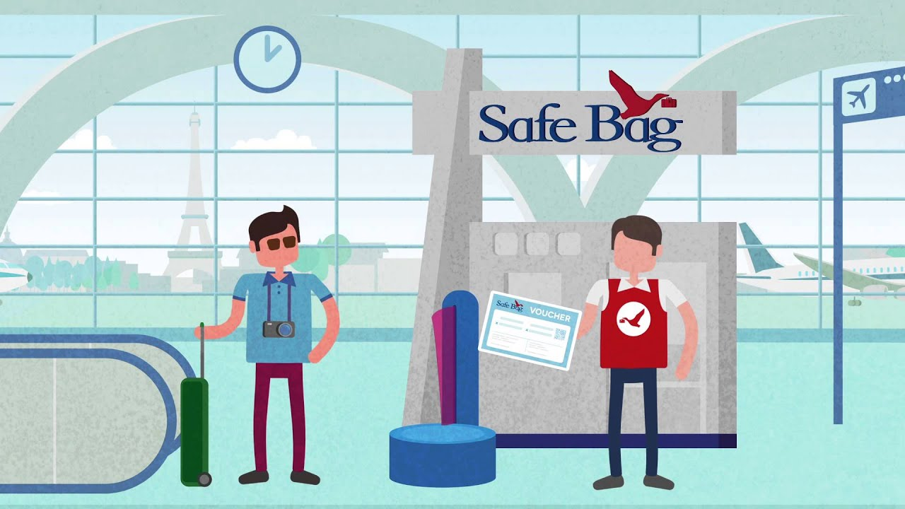 Safe Bag / Newspapers & Luggages / Terminal 1 / Shops