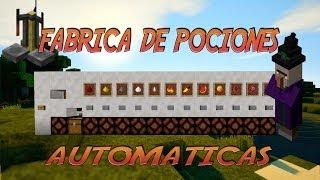 | TUTORIAL REDSTONE | FABRICA DE POCIONES AUTOMÁTICAS 1.7.7 thumbnail