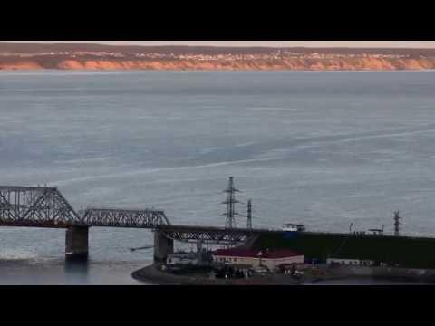 Река Волга в районе Ульяновска, виды Заволжья, 7 07 2016г