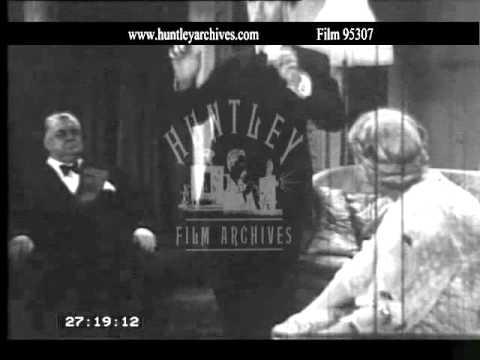 Alastair Sim as a spiritualist.  Archive film 95307