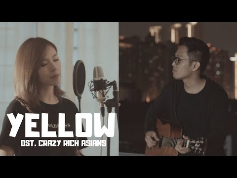 KATHERINE HO - YELLOW (Coldplay Cover) Ost. Crazy Rich Asians | Audree Dewangga, Queenie Khu