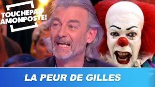 Gilles Verdez se fait terroriser en plein direct par un clown thumbnail
