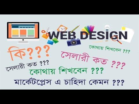Web design and devolopment / How / Why / Demand / Salary / Freelanching