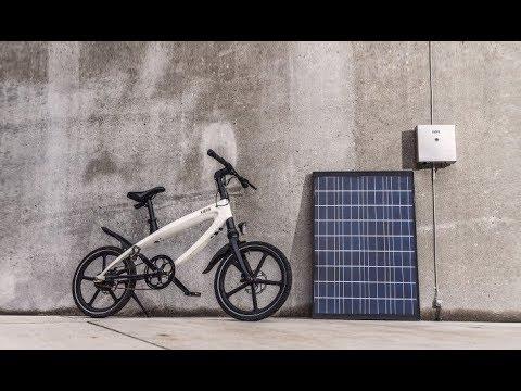 KVAERN is a Solar Powered E-Bike
