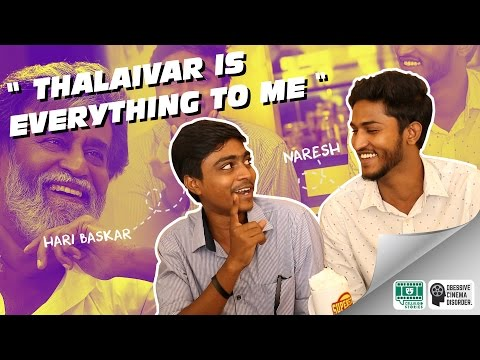 """"""" Thalaivar is everything to Me """" - Exclusive interview with Jump Cuts 2/2   OCD #3"""