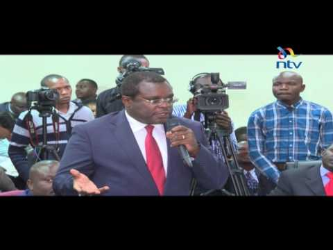 IEBC hears cases brought by aggrieved candidates