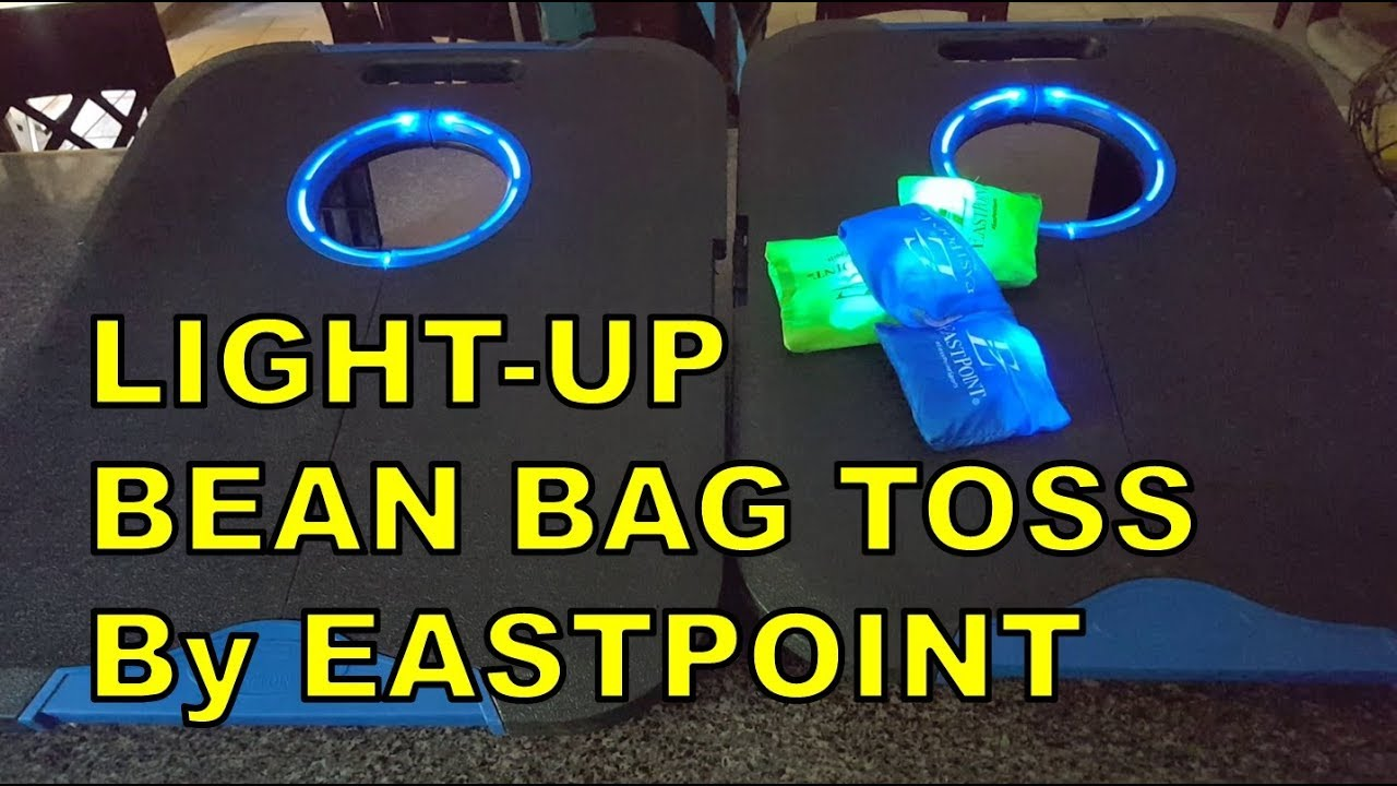 Light Up Bean Bag Toss Corn Hole By Eastpoint