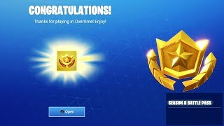 What Happens when you OPEN the Season 8 Battle Pass in Fortnite... (Season 8 REWARDS)