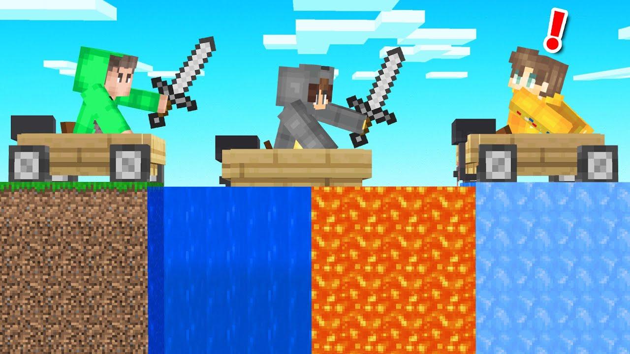 Hunters VS Speedrunner With OP BOATS! (Minecraft)