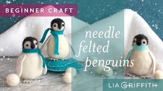 How To Make A Felted Penguin