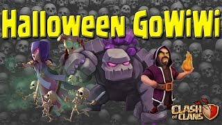 Clash of Clans - Halloween Special - GoWiWi vs Th10 Bases - Witches, Wizards, & more!