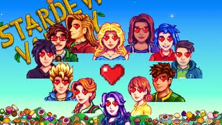 12 Marriage Candidates Favorite Gifts - Stardew Valley