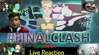 Taddl kehrt zurück & Kürbistumor fight !!!! - Finalclash (Tubeclash 3) Episode 04 Live Reaction