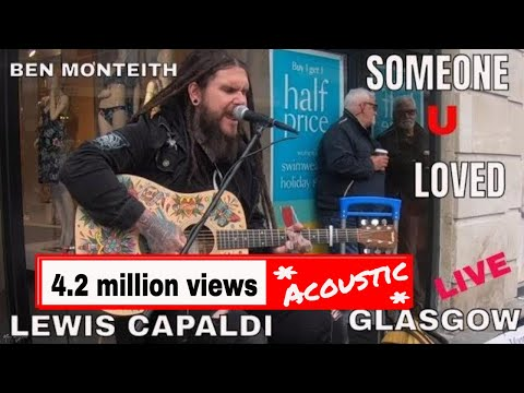 Lewis Capaldi - Someone You Loved I Ben Monteith Cover 4K