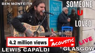 Download lagu Lewis Capaldi - Someone You Loved I Ben Monteith Cover 4K