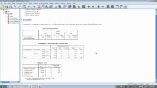 How to Use SPSS:Chi Square Test for Independence or Crosstabulation (2x4)