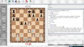 Разбор шахматной партии. Сицилианская защита (Олеся белыми). Урок 07 (часть 2)