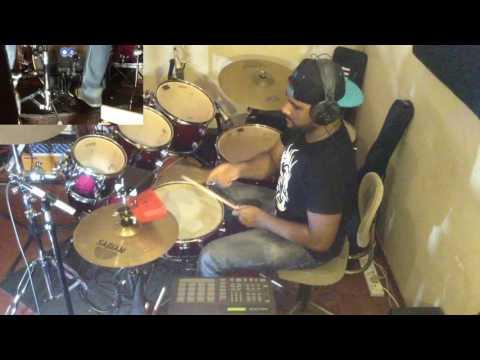 Gloria Estefan - Conga (Drum cover & Piano Solo) by Rachitha Vithanage (Watz)