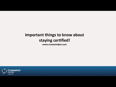 How to maintain your PMP® Certification from PM Exam Guru, Tony ...