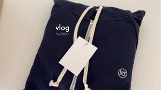 VLOG | 일상브이로그 아기 봄옷이랑 렉토 후드 쇼핑…