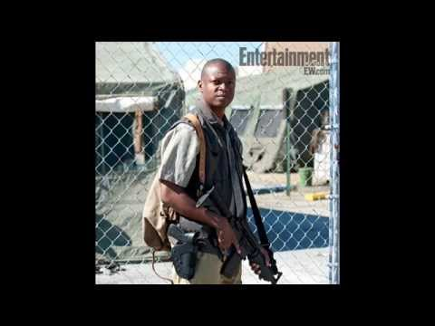 The Walking Dead Season 4  First Look At Lawrence Gilliard Jr. As Bob Stookey!