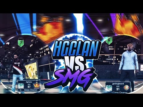SMG VS HG | GAME OF THE YEAR | I HORSED THEIR TOP CENTER | NBA2K17