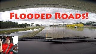 Texas Flash Flooding & Galveston Free Ferry