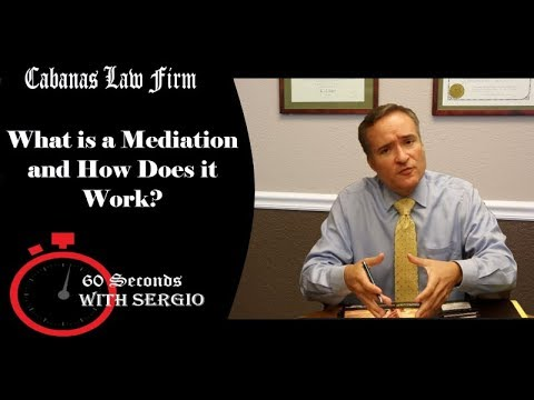 What is a Mediation and How Does it Work?